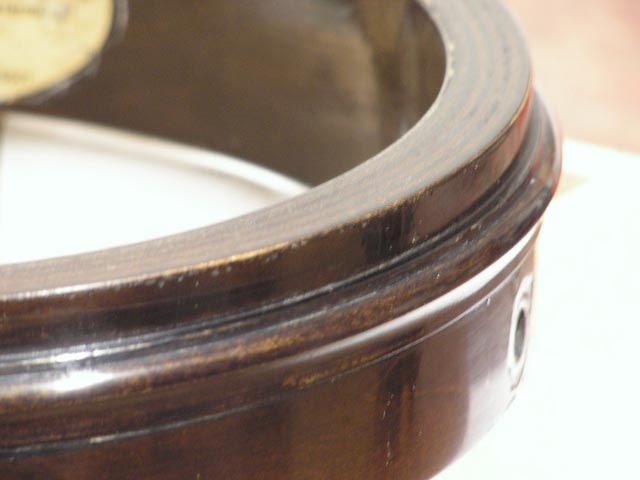 Repairing A Gibson 2 Piece Flange Rim
